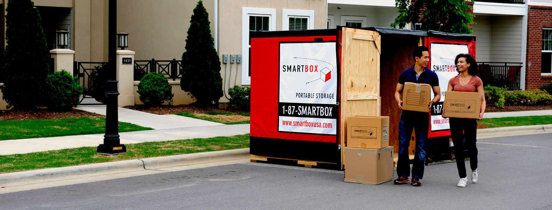 Smartbox portable storage | Advantage Moving and Storage | Chicago, IL